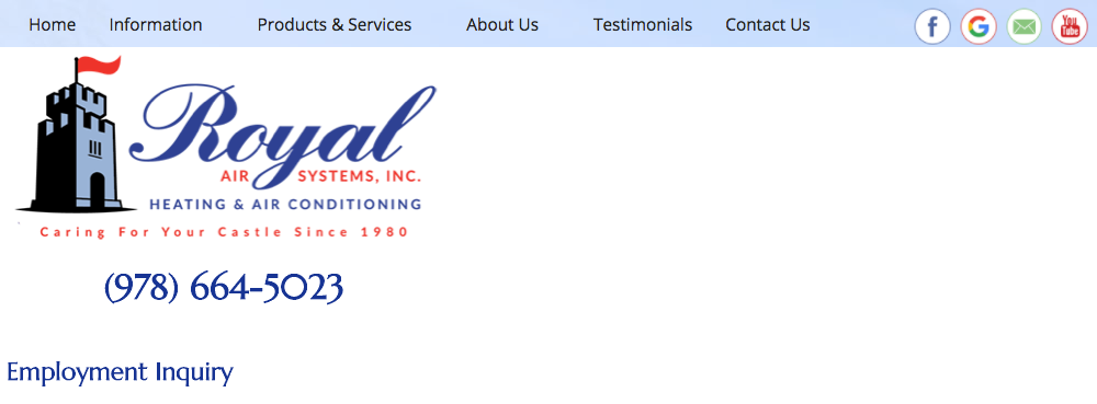Royal Air Systems, Inc.